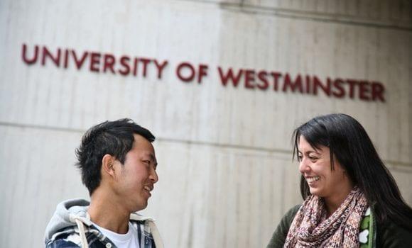 Dar nevėlu įstoti į University of Westminster
