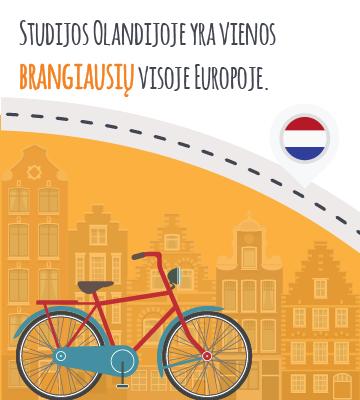 Studijos Olandijoje