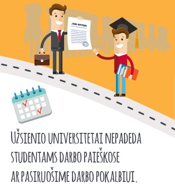 universitetų pagalba