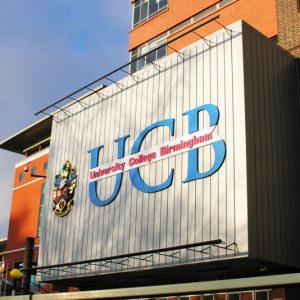 Susitikimas su University College Birmingham atstovais