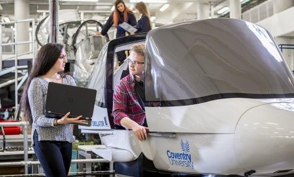 Viskas apie inžinerijos studijas – Coventry University